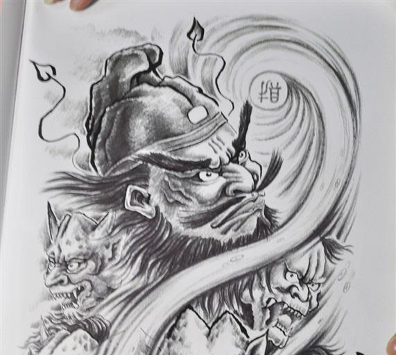 成都纹身 成都刺青 / 纹身锦鲤 / 笑弥勒 / 僵尸纹身素材 / 荷花纹身
