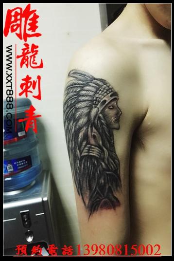 成都刺青 / 成都纹身 / 成都纹身 / 最后的子弹 / 月亮女神 / 异龙图片