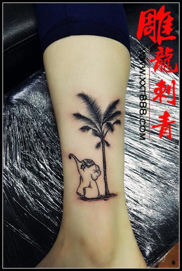 成都纹身 / 成都纹身 / 小象纹身 / 皇冠纹身 / 蝴蝶纹身 / 燕子